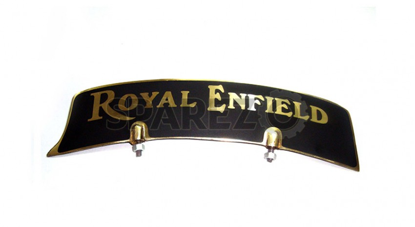 NEW ROYAL ENFIELD ALUMINIUM FRONT MUDGUARD NUMBER PLATE