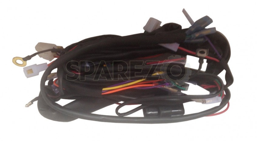 Wondrous Bnb Royal Enfield Bullet 6Volt Complete Wiring Harness 1 Sparezo Wiring 101 Tzicihahutechinfo