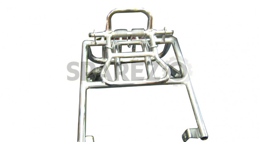 royal enfield rear luggage carrier chromed