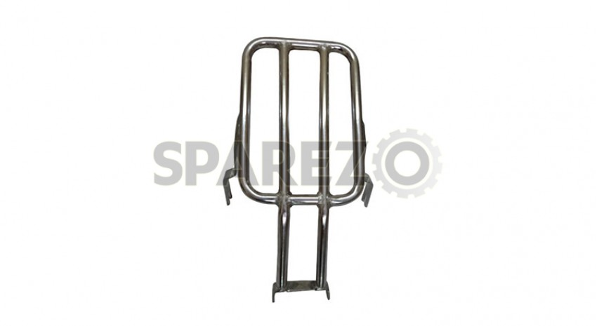 Royal Enfield Classic Chrome Rear Luggage Rack Carrier