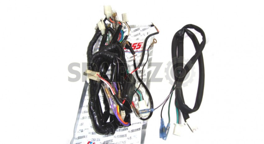 Fabulous Royal Enfield Thunderbird Complete Wiring Harness Sparezo Wiring 101 Akebretraxxcnl