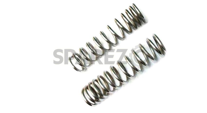 Details about  /Rear Shock Absorber Spring Chromed Fit For Royal Enfield Bullet