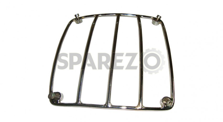 customized chromed universal motorcycle petrol tank grill