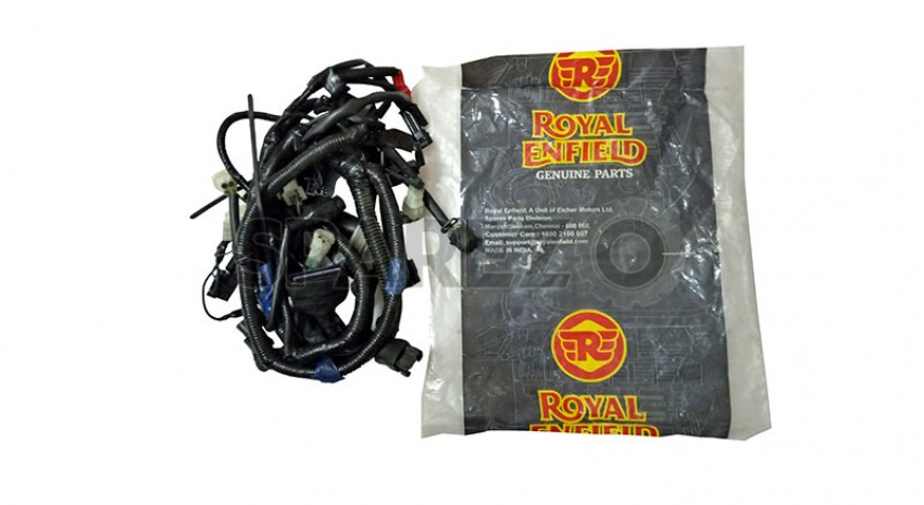 Awesome Royal Enfield Gt Continental Main Cable Wiring Harness Sparezo Wiring 101 Tzicihahutechinfo