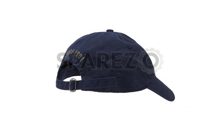 58ee21189b6 Genuine Royal Enfield Essential Cap Navy Blue - Sparezo