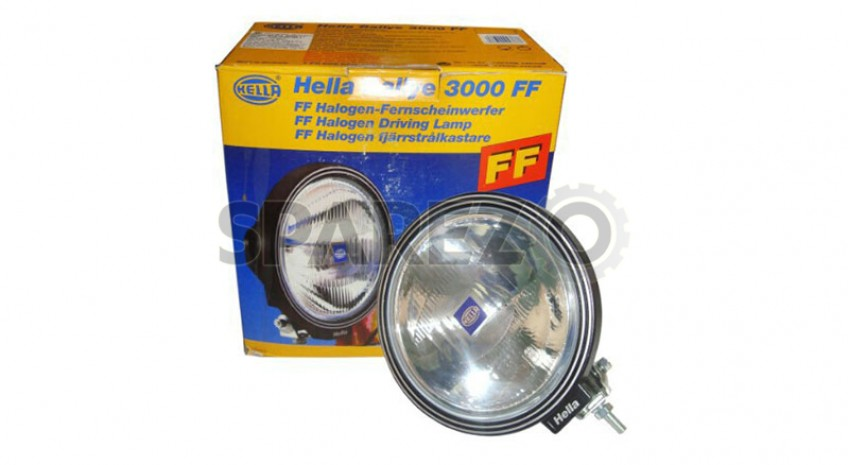 hella rallye 3000 ff driving lamp for 4x4 cars jeep suv. Black Bedroom Furniture Sets. Home Design Ideas