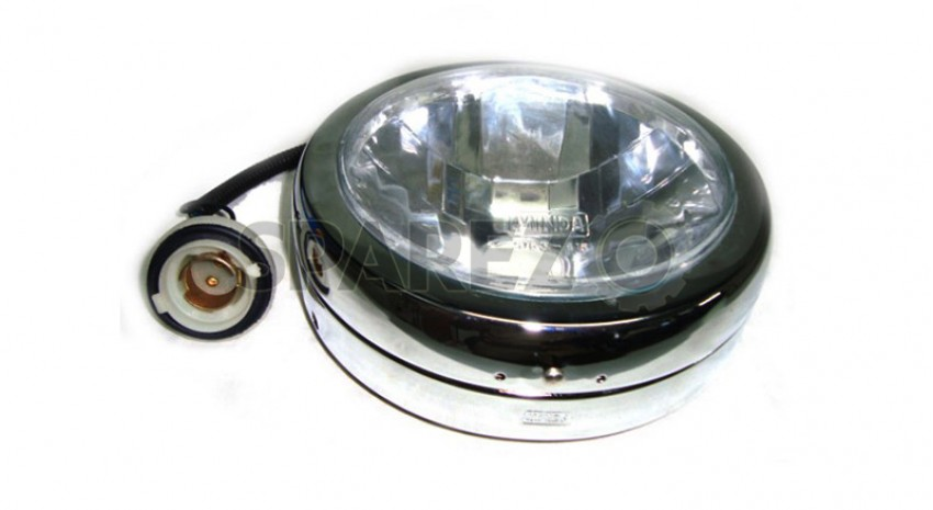 Royal Enfield Electra Complete Headlamp Assembly Sparezo