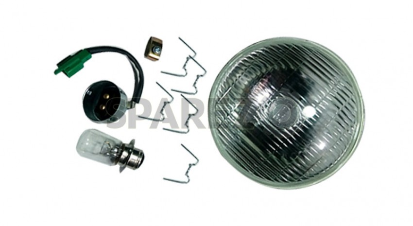 Royal Enfield 7 Quot Headlamp Assembly Headlight With Light