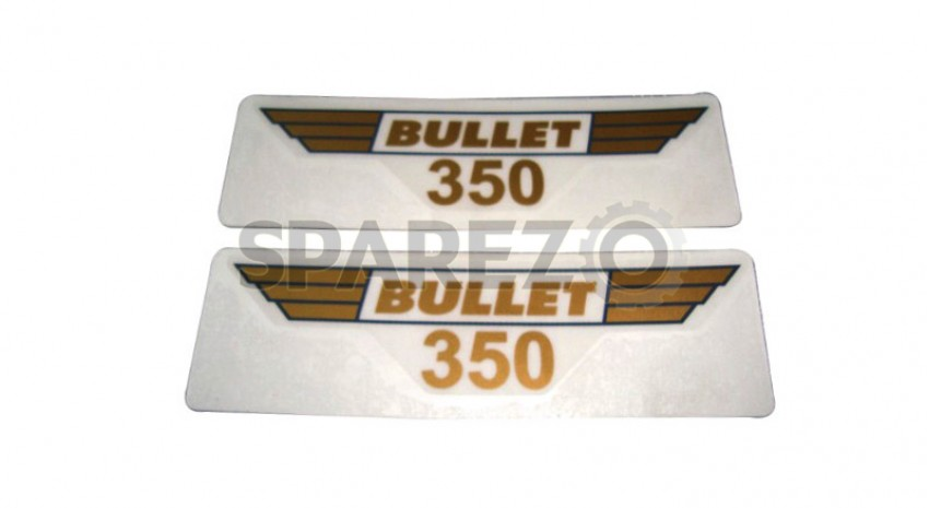 royal enfield toolbox 350cc sticker set
