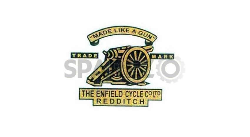 "Royal Enfield Brass Badge Embossed /""ROYAL ENFIELD /"" Air Filter Logo Monogram"