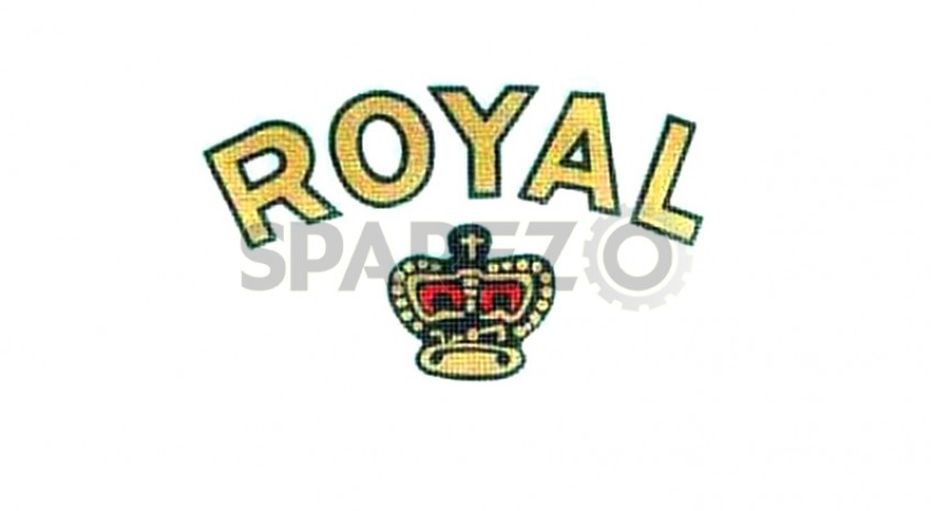 royal enfield crown and cannon toolbox stickers