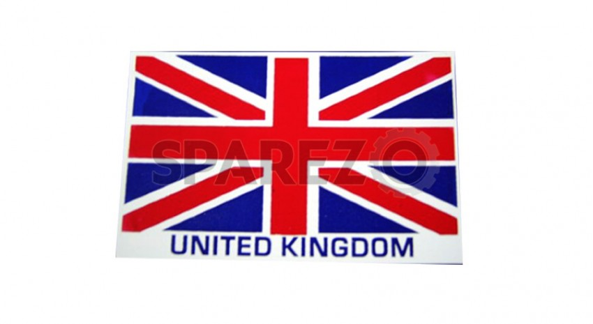 royal enfield pair of united kingdom flag stickers