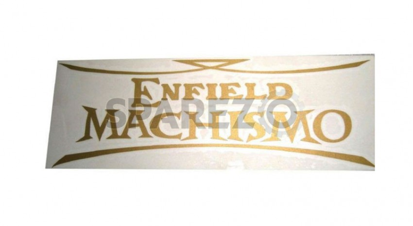 royal enfield brand new machismo petrol tank sticker kit